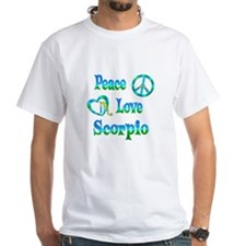 Peace Love Scorpio Shirt