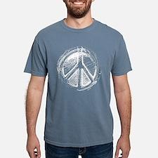 Urban Peace Sign Sketch T-Shirt