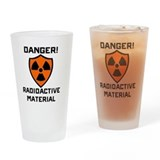 Radiation Pint Glasses