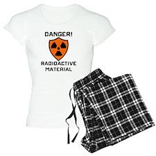 Danger Radioactive Material Pajamas