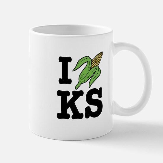 I Love Kansas (corn) Mug