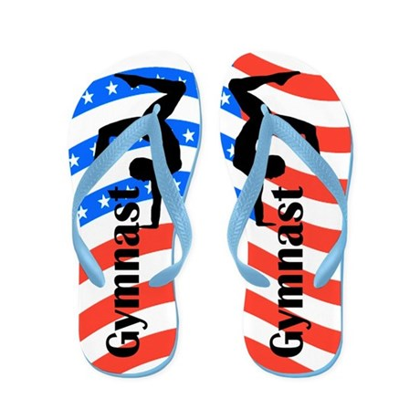 USA GYMNAST Flip Flops