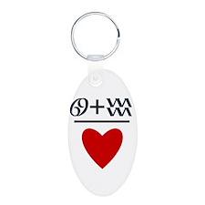 Cancer + Aquarius = Love Keychains