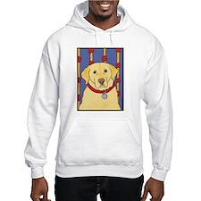 """The Yellow Lab"" Labrador Hoodie"