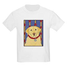 """The Yellow Lab"" Labrador Kids T-Shirt"
