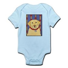 """The Yellow Lab"" Labrador Infant Creeper"