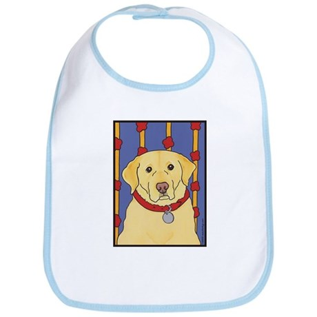 """The Yellow Lab"" Labrador Bib"