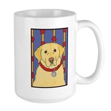 """The Yellow Lab"" Labrador Mug"