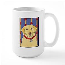 """""""The Yellow Lab"""" Labrador Mug"""