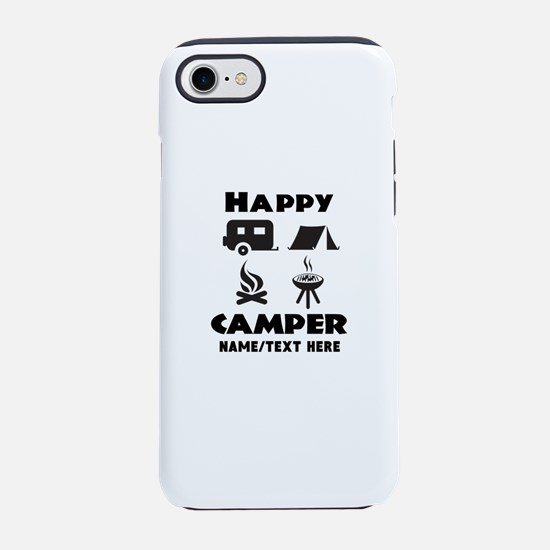 Happy Camper Personalized iPhone 7 Tough Case