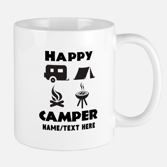 Happy Camper Personalized Mug