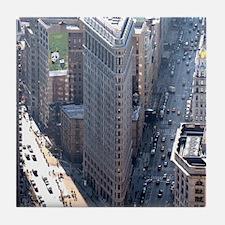Flatiron Building New York City Tile Coaster