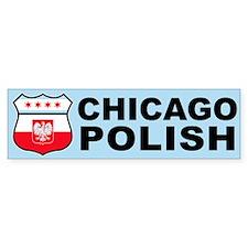 Chicago Polish American Bumper Bumper Sticker
