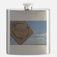 Rotary Sign Flask
