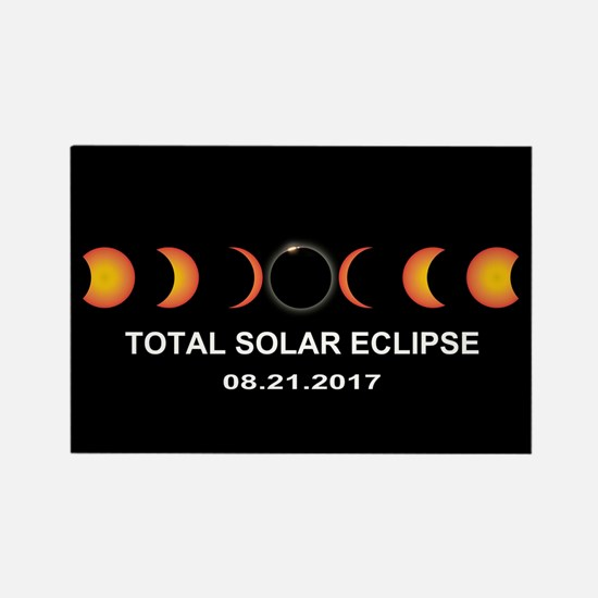 Total Solar Eclipse 2017 Rectangle Magnet