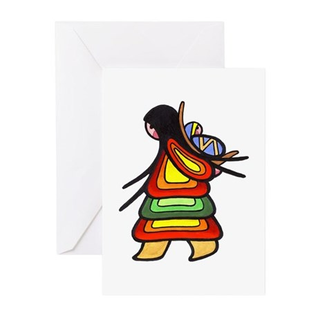 Inuit Family Greeting Cards (Pk of 10)