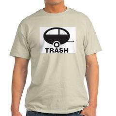 Trailor Trash Ash Grey T-Shirt