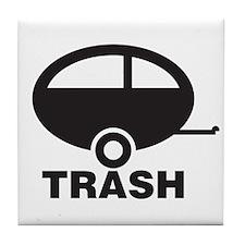 Trailor Trash Tile Coaster