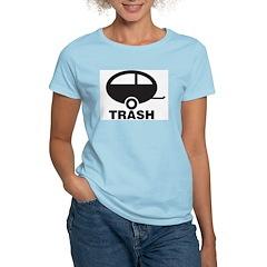 Trailor Trash Women's Pink T-Shirt