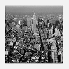 Empire State New York City-Pro Photo Tile Coaster
