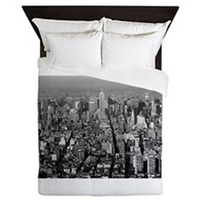 Empire State New York City-Pro Photo Queen Duvet
