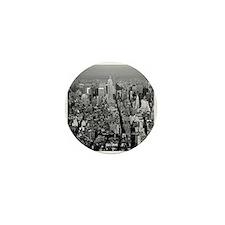 Empire State New York City-Pro Photo Mini Button