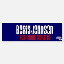 BORIS FOR PM > Bumper Bumper Bumper Sticker