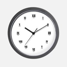 12 Step Clock Wall Clock