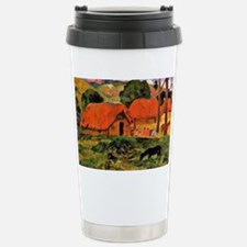 Gauguin: The Three Huts Stainless Steel Travel Mug