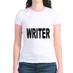 Writer (Front) Jr. Ringer T-Shirt