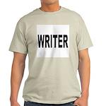 Writer (Front) Ash Grey T-Shirt