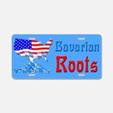 American Bavarian Roots Aluminum License Plate
