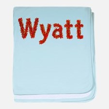 Wyatt Fall Leaves baby blanket