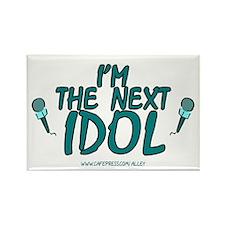 Next Idol Rectangle Magnet