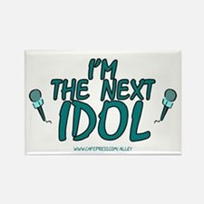 Next Idol Rectangle Magnet