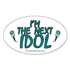 Next Idol Oval Decal