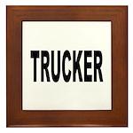 Trucker Framed Tile