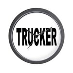 Trucker Wall Clock