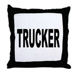 Trucker Throw Pillow