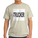 Trucker (Front) Ash Grey T-Shirt