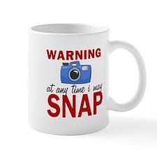 Warning Snap Mugs