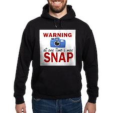 Warning Snap Hoodie