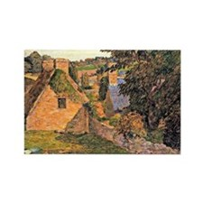Gauguin: Lollichon Field, 1886 Rectangle Magnet