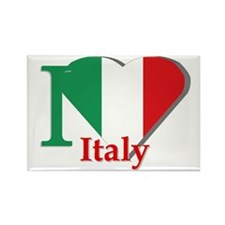 I love Italy Rectangle Magnet (10 pack)