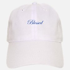 Blue Blessed Baseball Baseball Cap