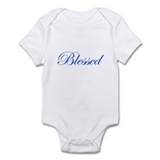 Blue Blessed Infant Bodysuit