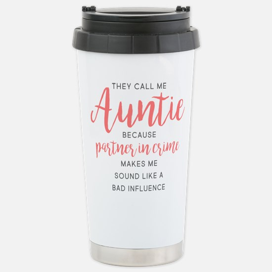 Auntie Partner in Travel Mug