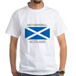 Motherwell Scotland White T-Shirt