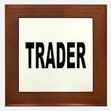 Trader Framed Tile