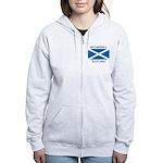 Motherwell Scotland Women's Zip Hoodie